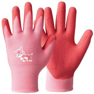 Otroške vrtne rokavice Granberg 108.0112 PLAY AND WORK - roza