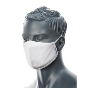 2-slojna zaščitna protimikrobna maska Portwest CV22, 1 kos - bela barva