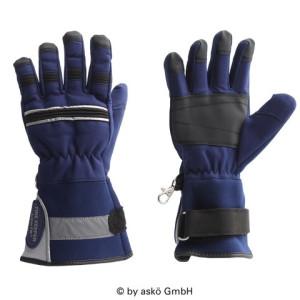 Mladinske gasilske rokavice Asko FIRE KEEPER Junior - dolga manšeta