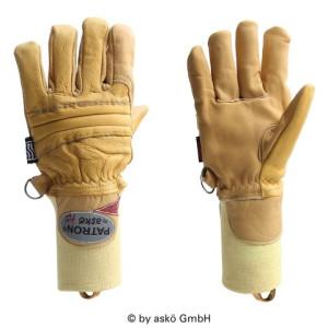Gasilske rokavice Asko PATRON FIRE ELK - kratka tkana manšeta