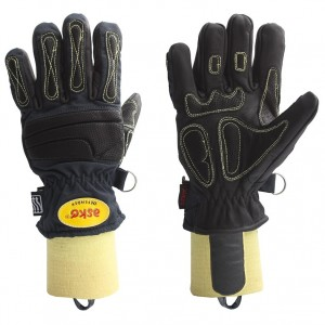 Gasilske rokavice Asko DEFENDER - kratka tkana manšeta