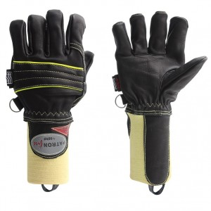 Gasilske rokavice Asko PATRON FIRE - kratka tkana manšeta