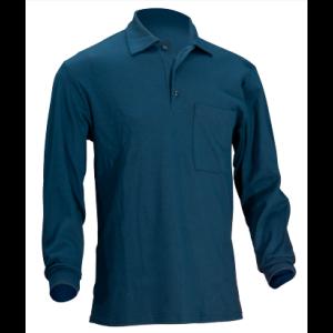 Negorljiva polo majica z dolgimi rokavi