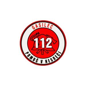 Nalepka GASILEC 112