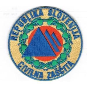 Našitek CZ Civilna zaščita Republike Slovenije