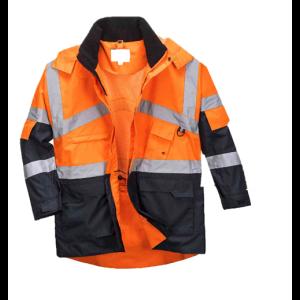 Visokovidna delovna jakna Portwest S760