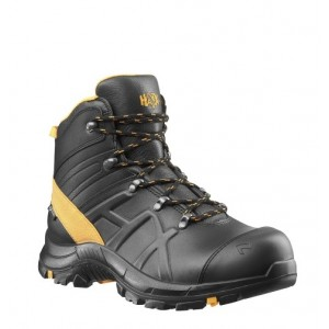 Zaščitni čevlji Haix BLACK EAGLE SAFETY 54 Mid - black/orange