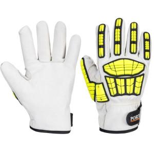 Usnjene protivrezne rokavice Portwest A745 IMPACT PRO CUT