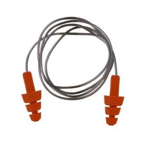 Ušesni čepki z vrvico za večkratno uporabo Portwest EP04 - 50 kos