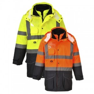 Visokovidna delovna jakna Portwest HI-VIS 7-V-1 TRAFFIC S426