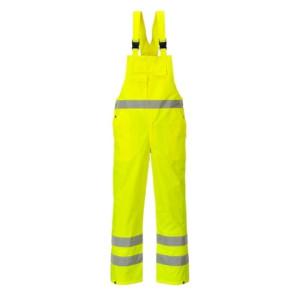 Visokovidne farmer hlače z naramnicami Portwest HI-VIS S388 - OUTLET