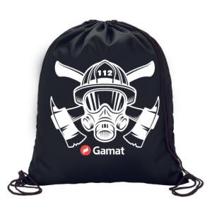 Vrečka - nahrbtnik z vrvico Gamat - Gasilec 112