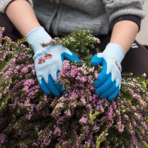 Otroške vrtne rokavice Granberg 108.0111 PLAY AND WORK - modre