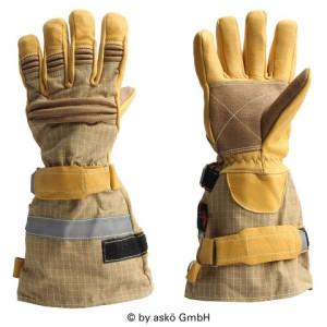 Gasilske rokavice Asko PATRON PBI ELK - dolga manšeta
