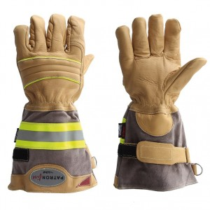 Gasilske rokavice Asko PATRON FIRE - dolga manšeta