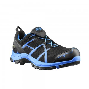 Zaščitni čevlji Haix BLACK EAGLE SAFETY 40 Low - black/blue