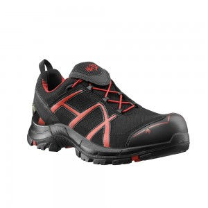 Zaščitni čevlji Haix BLACK EAGLE SAFETY 40 Low - black/red
