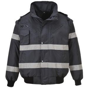 Dežna jakna Portwest S435 BOMBER IONA 3v1