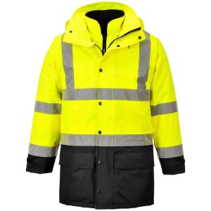 Visokovidna delovna jakna 5 -v- 1 Portwest S768 EXECUTIVE - OUTLET
