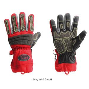 Tehnične rokavice Asko DEER SKIN PRO - kratka manšeta