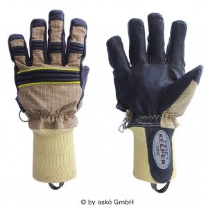 Gasilske rokavice Asko FIRE KEEPER PBI MATRIX- kratka tkana manšeta