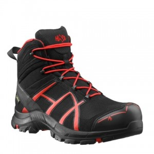 Zaščitni čevlji Haix BLACK EAGLE SAFETY 40 Mid - black/red - OUTLET