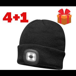 Zimska kapa z LED lučko Portwest B029 - AKCIJA 4+1 GRATIS