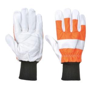 Gozdarske rokavice – rokavice za delo z motorno žago Portwest A290 OAK CHAINSAW (Razred 0)