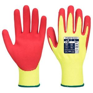 Visokovidne protivrezne nitrilne rokavice Portwest A626 VS-TEX HR