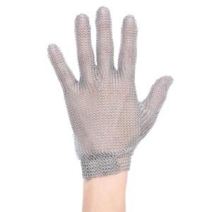 Zaščitna mesarska rokavica- jeklena mrežasta rokavica za delo z noži Portwest AC01 CHAINMAIL, 1 kos