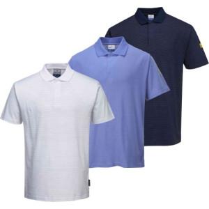 Antistatična polo majica s kratkimi rokavi ESD Portwest AS21
