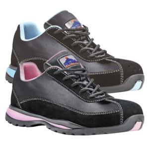Ženski nizki zaščitni delovni čevlji Portwest FW39 STEELITE LADIES SAFETY S1P