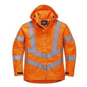 Ženska visokovidna vodoodporna jakna Portwest LW70 LADIES HI-VIS