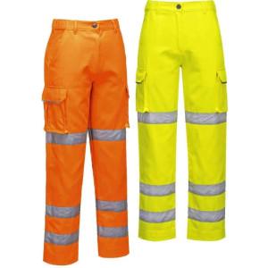 Ženske visokovidne vodoodporne hlače Portwest LW71 LADIES HI-VIS