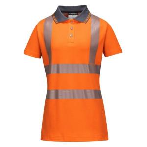 Ženska visokovidna delovna polo majica s kratkimi rokavi Portwest LW72 LADIES PRO
