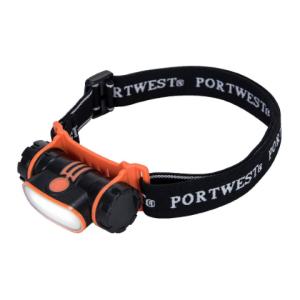 Vodoodporna naglavna svetilka USB LED Portwest PA70 - 150lm