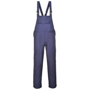 Ognjevarne farmer hlače z naramnicami Portwest FR37 - OUTLET