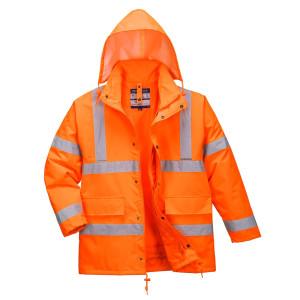Visokovidna dežna jakna Portwest S468 - OUTLET