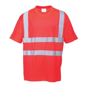 Visokovidna majica s kratkimi rokavi Portwest S478