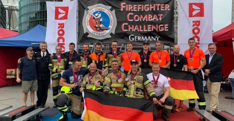S-gard Team Slovenia na tekmovanju v Berlinu