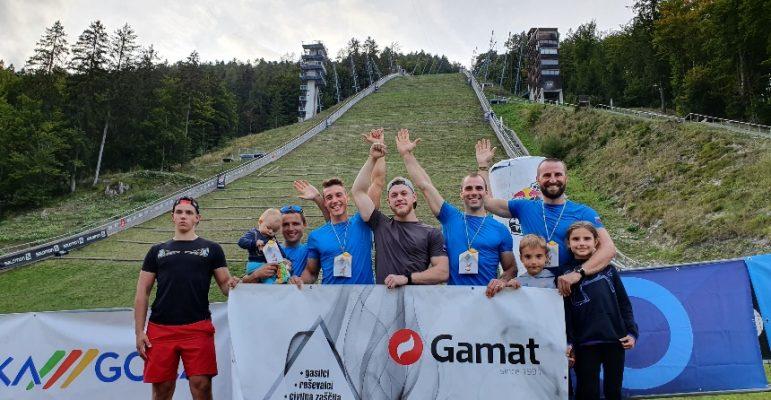 S-Gard Team Slovenia na tekmovanju PLANICA RED BULL 400
