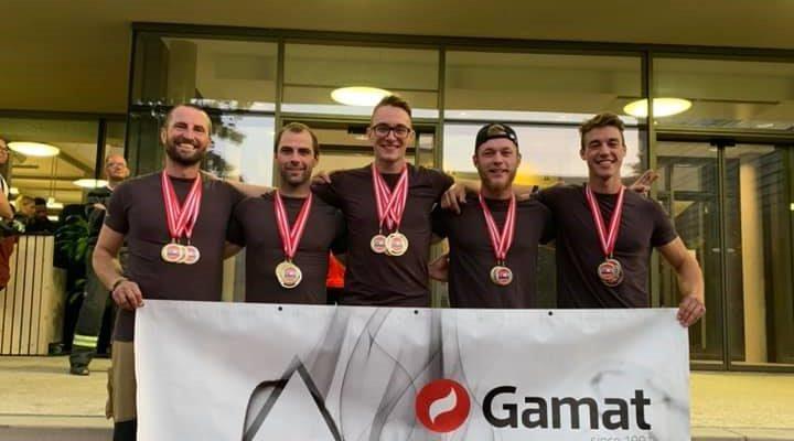 S-GARD TEAM SLOVENIA v Linzu, zadnja tekma pred odhodom na svetovno prvenstvo