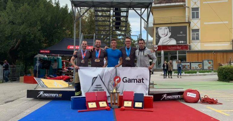 S-GARD TEAM SLOVENIA na evropskem prvenstvu FCC na Bledu