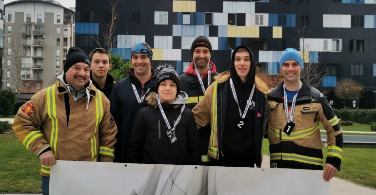 ZAGREB Firefighter Stair Challenge 2019